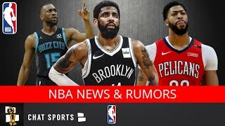 NBA Rumors: Kyrie Irving To Nets, Anthony Davis To Lakers Trade, And Kemba Walker Free Agency