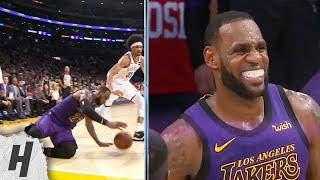 LeBron James Costly Turnover - Nets vs Lakers | March 22, 2019 | 2018-19 NBA Season