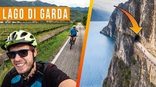 Jezioro Garda i genialne trasy rowerowe w okolicy 🇮🇹 Przez północne Włochy z Tatą