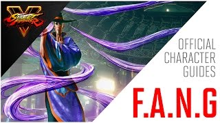 SFV: F.A.N.G Official Character Guide