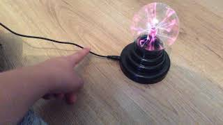 Plasma ball. (From Amazon)