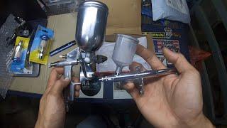 Unboxing Mini Spary Gun, Air Trap, Grinder Table Holder, Threat Repair