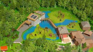 Nyhet 2020: Nytt orangutanghus - kom tettere på! | Dyreparken
