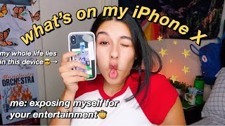 what's on my iphone x 2019
