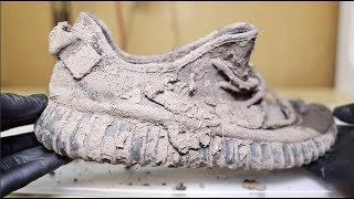 Cleaning The Dirtiest Yeezy's Ever! $1200 2015 Pirate Black's Back To NEW!