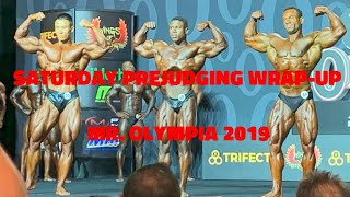 Saturday Prejudging Wrap-Up with Ron & Giles | 2019 Mr. Olympia
