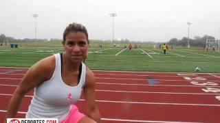 Guatemalteca Alejandra Garcia de fisiculturista a maratonista