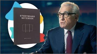 Storyboard Notebook & Martin Scorsese Has A Masterclass