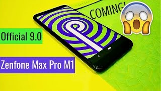 Official Android PIE 9.0 coming to Asus Zenfone Max Pro M1