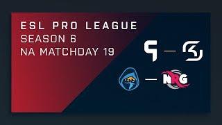 CS:GO: Ghost vs. SK   Rogue vs. NRG - Day 19 - ESL Pro League Season 6 - NA 2nd Stream