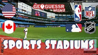 Geoguessr - North American Sports Stadiums (Be kind, I'm from England)