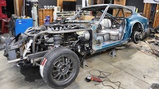 More Paint Prep Uncovered Some Real Bummer News on the 240z