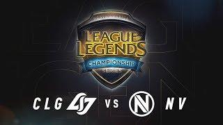 CLG vs. NV - Day 2 Game 1 | NA LCS Summer Split Quarterfinals | CLG vs. Team Envy (2017)