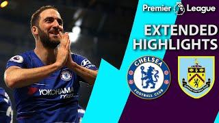 Chelsea v. Burnley   PREMIER LEAGUE EXTENDED HIGHLIGHTS   4/22/19   NBC Sports