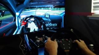 Sim racing in 4k