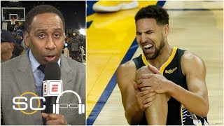 Raptors beating Warriors inevitable when Klay Thompson went down – Stephen A. | SC with SVP