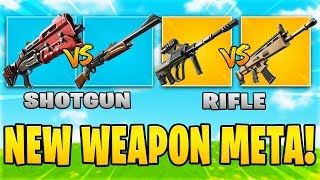 The NEW Weapon Meta In Fortnite Chapter 2... (Pump Shotgun vs. Tac Shotgun - Chapter 2)