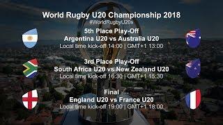 U20 Championship Day 5 - Argentina U20 v Australia U20
