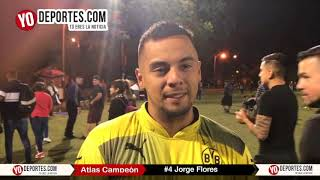 Jorge Flores autor del gol final Atlas Campeon Midway Soccer League Chicago