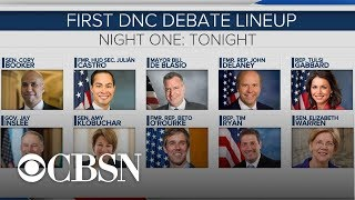 What to expect from the first Democratic debates