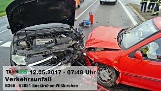 Verkehrsunfall – B266 – EU-Wißkirchen – 12.05.2017 – 07:48 Uhr