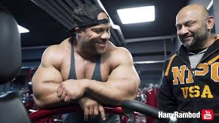 Hany and Phil Heath crush a FST-7 shoulder Workout