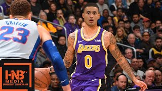 Los Angeles Lakers vs Detroit Pistons Full Game Highlights   01/09/2019 NBA Season