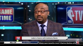 Dennis Scott & Chris Miles discuss: Lakers and LeBron future with Anthony Davis?   NBA Game Time