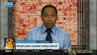 Stephen A. Smith ″heartbreaking″: Should Lakers consider trading LeBron James? | ESPN First Take
