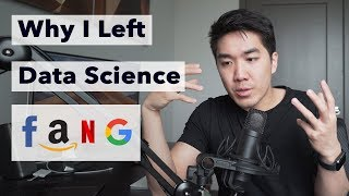 Why I left my Data Science Job at FANG (Facebook Amazon Netflix Google)