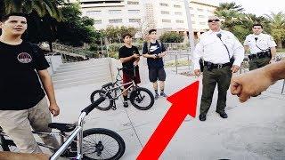BMX vs SECURITY