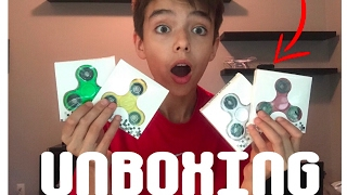 UNBOXING THE BEST FIDGET SPINNERS EVER!!