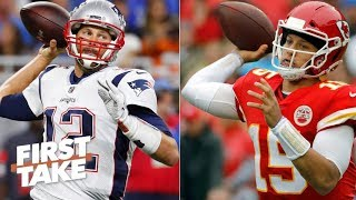Will the Chiefs' defense stop Tom Brady and the Patriots in the AFC Championship? | First Take