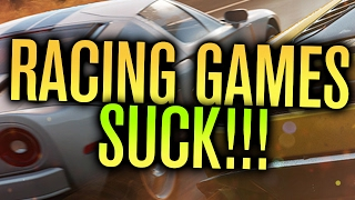 WHY RECENT RACING GAMES SUCK!!!