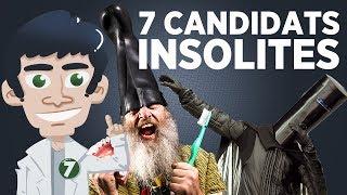7 candidats politiques complètement W T F