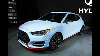 Hyundai Unveils All-New Veloster and Veloster N at 2018 CIAS