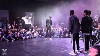 Young Battle 2015 - 1/2 Finale 3vs3 - Street Flow VS Mini Justiciers - Karism
