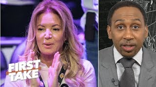 Lakers fans protesting outside of the Staples Center is the last stand – Stephen A.   First Take