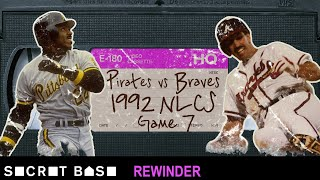 The Atlanta Braves' last-ditch comeback vs. the Pittsburgh Pirates needs a deep rewind | 1992 NLCS