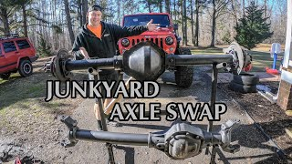 Axle Teardown and Prep - JK 1 Ton Axle Swap