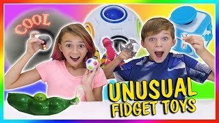 MOST UNUSUAL FIDGET TOYS | We Are The Davises