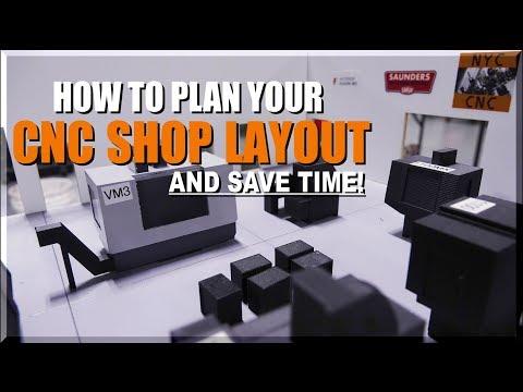 Machine Shop Layout Advice: 3D Print!