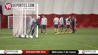 Chicago Fire Practice March 2 preseason 2016
