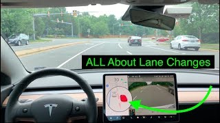 Tesla Autopilot | Lane Changes Are Getting Smarter | 2019.20.4.2