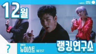 [랭킹연구소] 2018년 12월 보이그룹 순위 (남자아이돌 브랜드)   K-POP IDOL Boy Group Chart (December Brand)