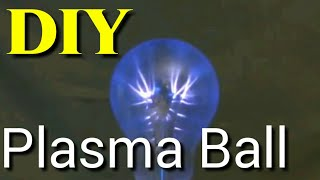 How to make beautiful Plasma globe at home.