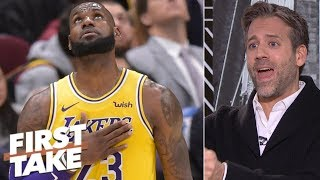 Max doesn't give Lakers a chance to make Western Conference finals | First Take