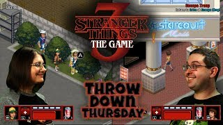 Stranger Things 3: The Game - Chapter Six - THROW DOWN THURSDAYS Eric & Mary Let's Play Part 6