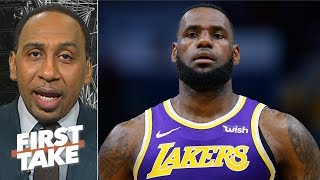 LeBron's legacy will take a hit if the Lakers don't make the playoffs – Stephen A. | First Take