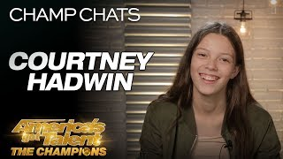 Courtney Hadwin Chats About Her Original ″Pretty Little Thing″ - America's Got Talent: The Champions